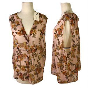 NEW a new day Womens 3X Floral Blouse NWT
